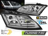 Přední světla Audi  TT 06-10 8J chrom led SEQ xenon