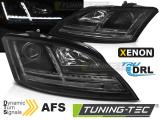 Přední světla Audi TT 06-10 8J s AFS černá SEQ led xenon