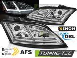Přední světla Audi TT 06-10 8J s AFS chrom SEQ led xenon