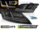 Přední světla Audi  TT 10-14 8Js AFS černá SEQ led xenon