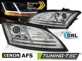 Přední světla Audi  TT 10-14 8Js AFS chrom SEQ led xenon