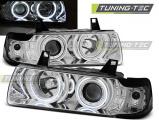 Přední světla BMW E36 12,90-08,99 S/C/T Angel Eyes CCFL chrom