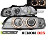 Přední světla BMW E39 09/95-06/03 Angel Eyes chrome xenon