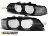 Přední světla BMW E39 95-00 černá bílá H7