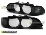 Přední světla BMW E39 95-00 černá kouřová H7