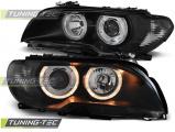 Přední světla BMW E46 03/04-06 coupe cabrio Angel Eyes černá