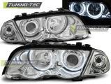Přední světla BMW E46 05/98-08/01 S/T Angel Eyes CCFL chrom