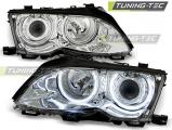 Přední světla BMW E46 09/01-03/05 Angel Eyes CCFL chrom