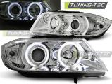 Přední světla BMW E90/E91 03/05-08/08 Angel Eyes CCFL chrom