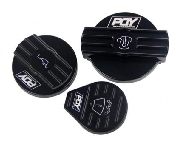 Kryt na víčko oleje, vody a ostřikovačů VAG 2.0 TFSi EA113 / EA888 - černé Pro Sport