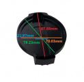 Kryt na víčko vody VAG 2.0 TFSi EA113 / EA888 - černé Pro Sport