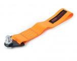 Přední odtahové oko textilní Epman - oranžové