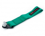 Přední odtahové oko textilní Epman - zelené