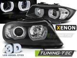 Přední světla BMW E90/E91 03/05-08/08 U-led 3D černá xenon