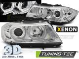 Přední světla BMW E90/E91 03/05-08/08 U-led 3D chrom xenon