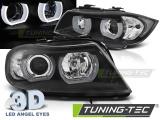 Přední světla BMW E90/E91 03/05/08.0 U-led 3D černá