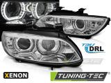 Přední světla BMW E92/E93 06-10 Angel Eyes led chrom xenon