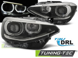 Přední světla BMW F20/21 11-12/14 TRUE DRL černá