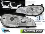 Přední světla BMW X5 E70 07-13 DRL chrom
