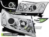 Přední světla Chevrolet Cruze 09-12 chrom tube