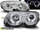 Přední světla Chrysler 300 M 99-04 Angel Eyes chrom