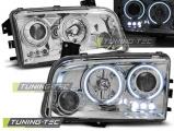 Přední světla Dodge Charger LX 06-10 Angel Eyes CCFL chrom