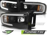 Přední světla Dodge Ram 02-06 černá