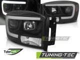 Přední světla Dodge Ram 06-08 černá