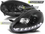 Přední světla Fiat Grande Punto 08-09 černá