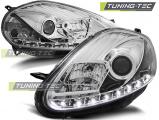 Přední světla Fiat Grande Punto 08-09 chrom