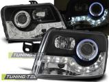 Přední světla Fiat Panda 03-12 černá