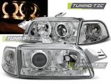 Přední světla Fiat Punto 1 11,93-09,99 Angel Eyes chrom