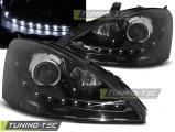 Přední světla Ford Focus 10/98-10/01 černá