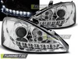 Přední světla Ford Focus 11/01-10/04 chrom