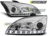 Přední světla Ford Focus II 09/04-01/08 chrom