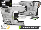 Přední světla Ford F150 MK13 17-20 chrom