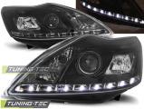 Přední světla Ford Focus II 02/08-10 černá W/M