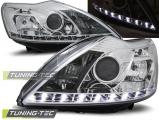 Přední světla Ford Focus II 02/08-10 chrom W/M