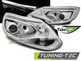 Přední světla Ford Focus MK3 11-10/14 chrom