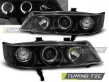 Přední světla Honda Accord 94-97 Angel Eyes černá (USA)
