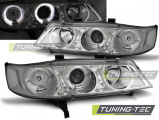 Přední světla Honda Accord 94-97 Angel Eyes chrom (USA)