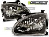 Přední světla Honda CRX del sol 03/92-97 černá