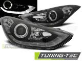 Přední světla Hyundai Elantra 11/10-15 černá led
