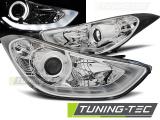 Přední světla Hyundai Elantra 11/10-15 chrom led