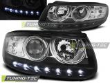 Přední světla Hyundai Santa Fe 06/06-12 černá