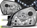 Přední světla Hyundai Tucson 07/04-10 chrome