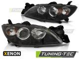 Přední světla Mazda 3 03-09 černá xenon