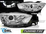 Přední světla Mazda CX5 11-15 chrom DRL
