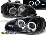 Přední světla Mazda MX3 91-98 Angel Eyes černá