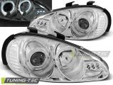 Přední světla Mazda MX3 91-98 Angel Eyes chrom